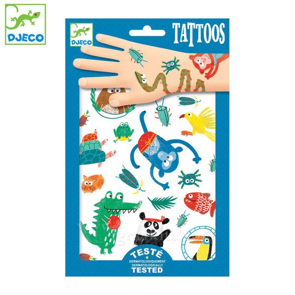 Djeco - Детски татуировки смешни муцуни DJ09576