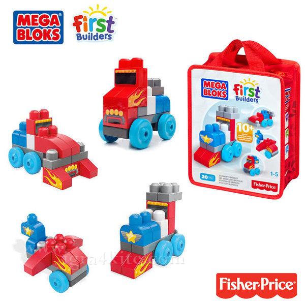 Fisher Price Mega bloks - Строител превозни средства cnh08