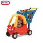 Little Tikes - Количка за пазаруване Cozy Coupe червена 618338