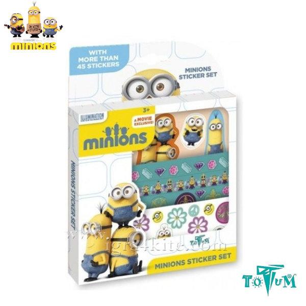 Totum Minions - Направи си лепенки Миньоните T710030