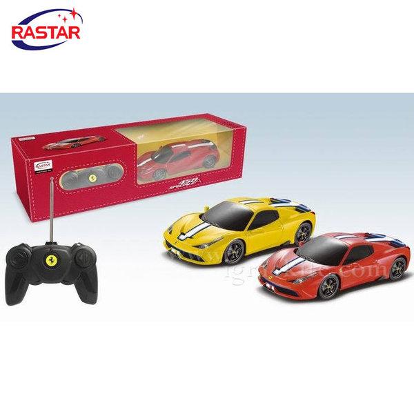 Rastar - Кола Ferrari 458 Speciale с дистанционно управление 1:24 71900
