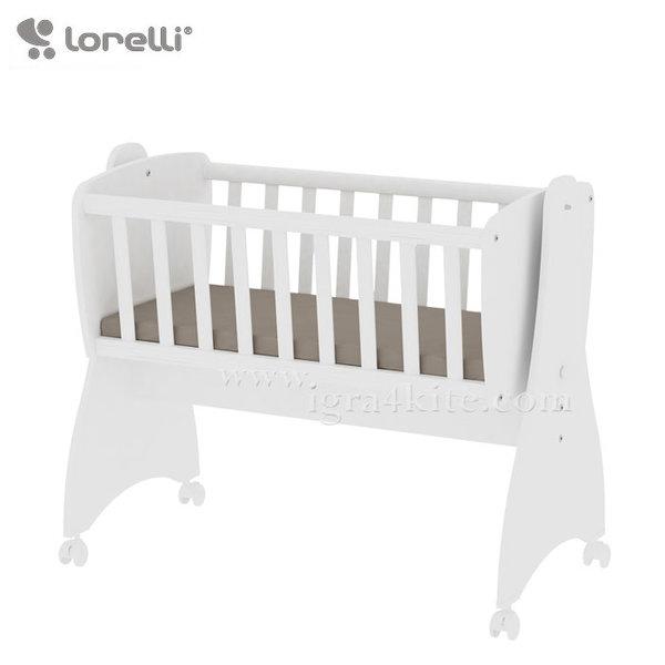 Lorelli - Бебешко легло-люлка FIRST DREAMS Бяло