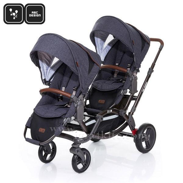 ABC Design - Детска количка за близнаци Zoom Style street