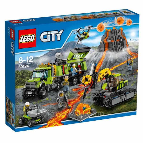 Lego 60124 City - Вулканична изследователска база