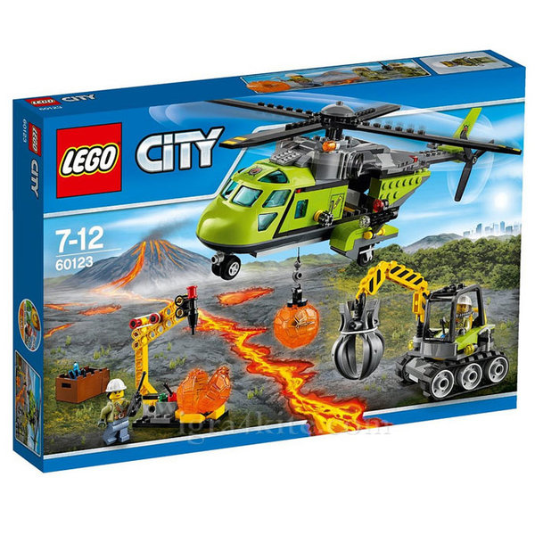 Lego 60123 City - Товарен хеликоптер