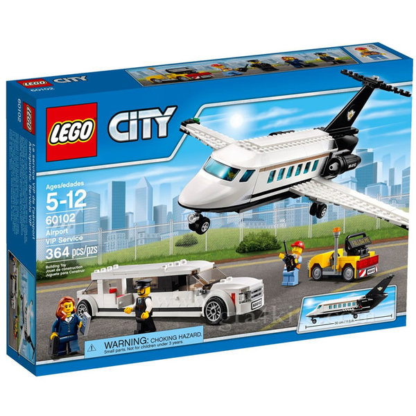 Lego 60102 City - Летище ВИП терминал