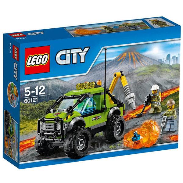 Lego 60121 City - Изследователски камион
