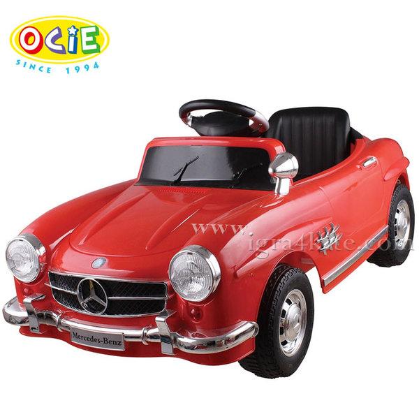 Ocie - Акумулаторна кола с родителски контрол Mercedes Retro