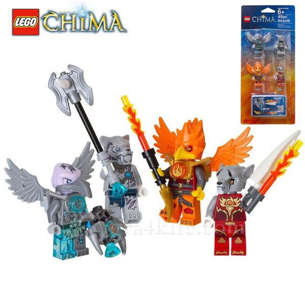 Lego 850913 Chima - Комплект мини фигурки огън и лед