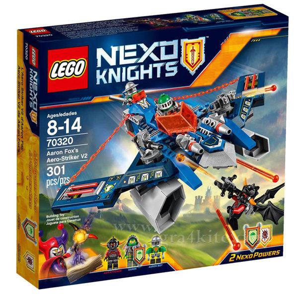 Lego 70320 Nexo Knights - Въздушният нападател на Eрън Фокс