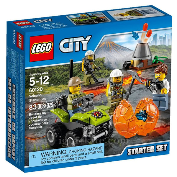 Lego 60120 City - Стартов комплект Вулкан