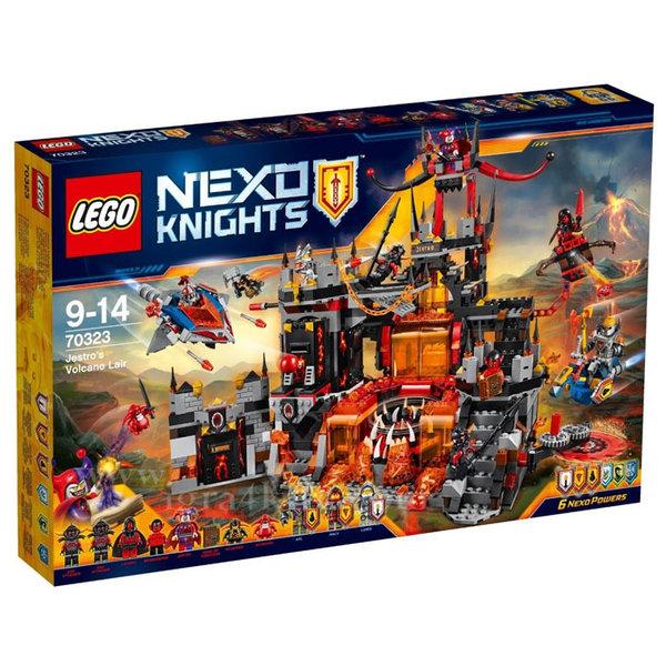 Lego 70323 Nexo Knights - Вулканичното леговище на Джестро