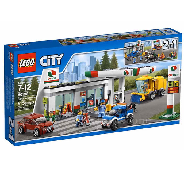 Lego 60132 City - Бензиностанция
