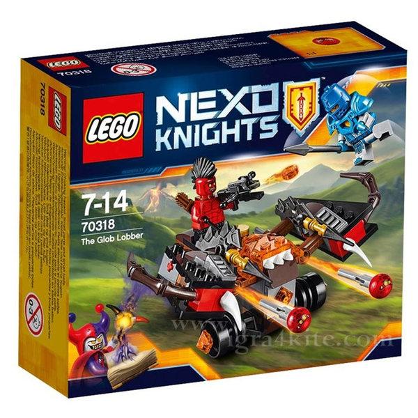 Lego 70318 Nexo Knights - Хвърляч на кълба