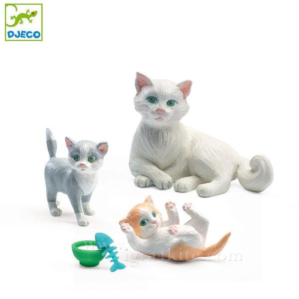 Djeco - Семейство домашни любимци котета DJ07817