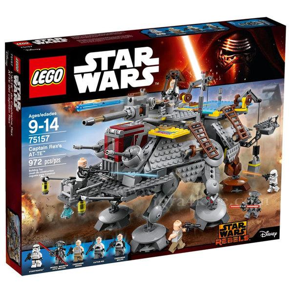 Lego 75157 Star Wars - AT-TE на капитан Рекс