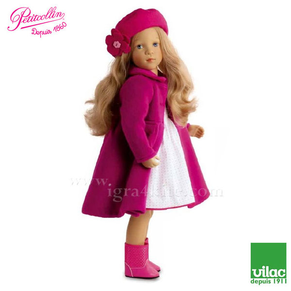 Vilac - Petitcollin Кукла Finouche Lucie по дизайн на Silvia Natterer 48cm 614807