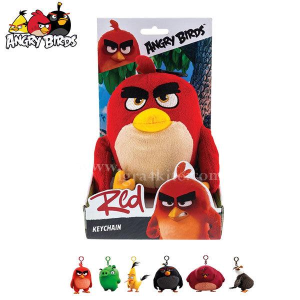Angry Birds - Плюшен ключодържател Ред 61700