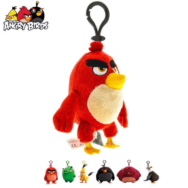 Angry Birds - Плюшен ключодържател 9см 60022