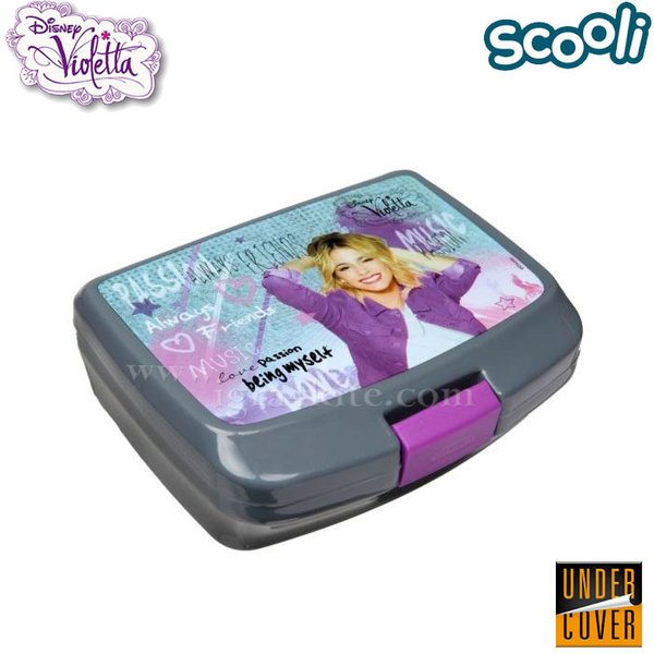 Scooli Disney Violetta - Кутия за закуски Виолета 25480