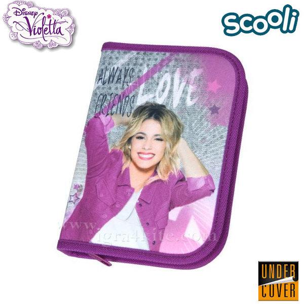 Scooli Disney Violetta - Ученически несесер зареден Виолета 35552