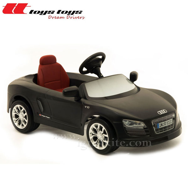 Toys Toys - Кола с педали AUDI R8 SPYDER черен мат 622651B