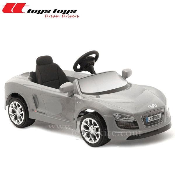 Toys Toys - Кола с педали AUDI R8 SPYDER сив металик 622651