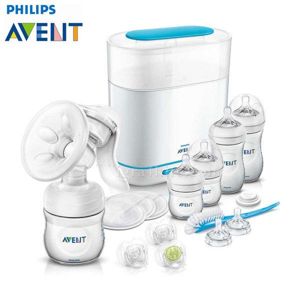 Philips AVENT - Стартов комплект всичко в едно Natural 0538