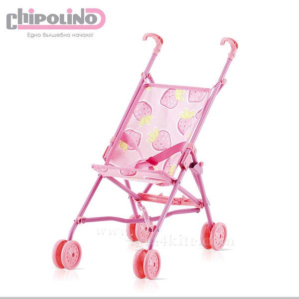 Chipolino - Количка за кукли Сима Пони розова