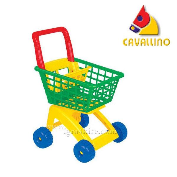 Cavallino Детска количка за пазаруване 7438