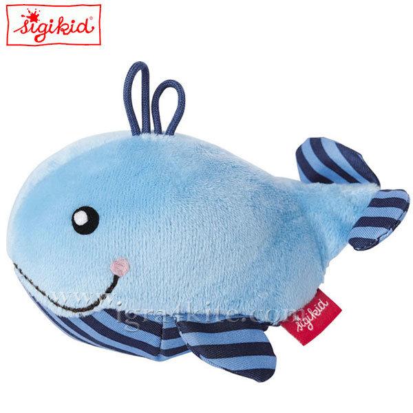 Sigikid - Мека играчка Кит 11см 41172