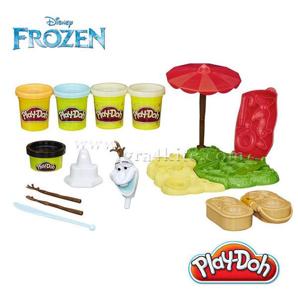 Play-Doh  - Disney Frozen Олаф през лятото b3401