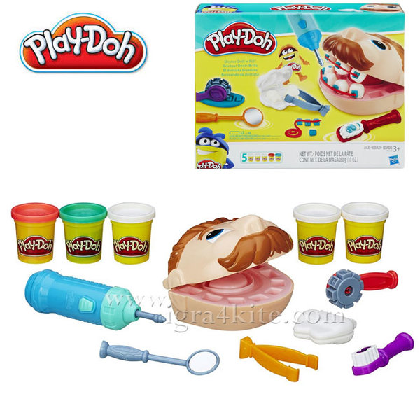 Play-Doh  - Зъболекар Dr. Drill B5520