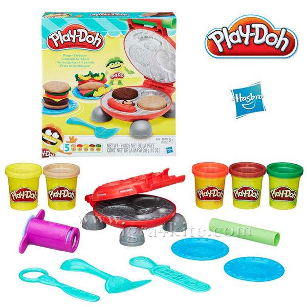 Play-Doh  - Детски комплект Бургер Барбекю b5521