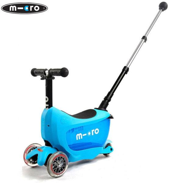 Micro - Детска тротинетка Micro Mini2go Deluxe Plus Blue MMD034