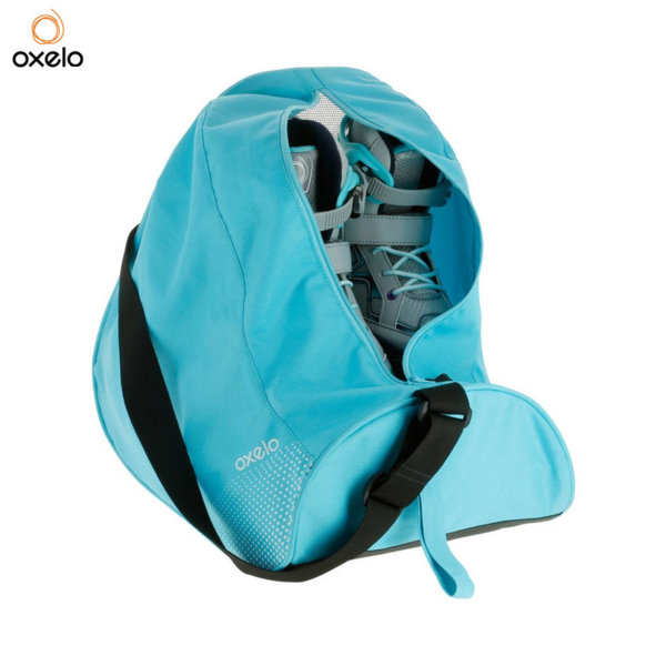 Oxelo - Чанта за ролери и кънки тюркоаз 192257