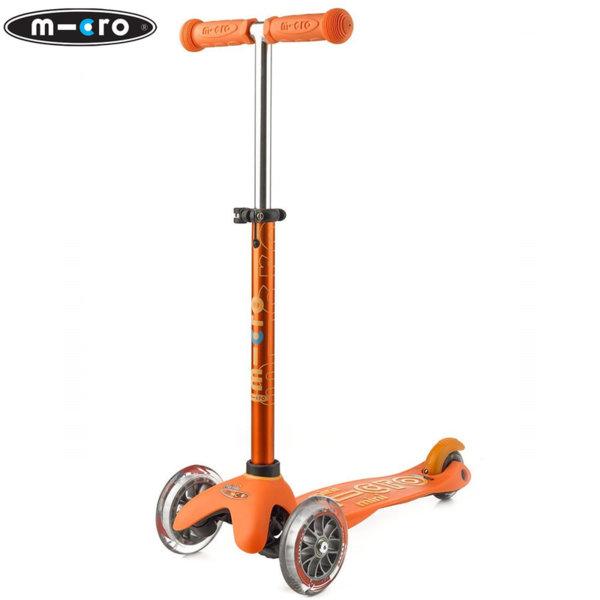 Micro - Детска тротинетка с три колела MINI MICRO DELUXE Orange MMD008