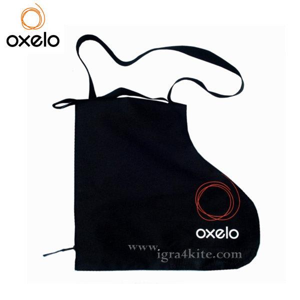 Oxelo - Чанта за ролери с две отделения Черна