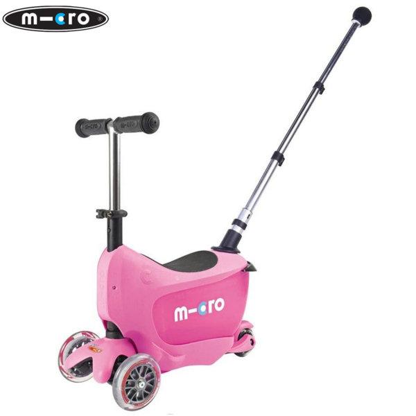 Micro - Детска тротинетка Micro Mini2go Deluxe Plus Pink MMD033