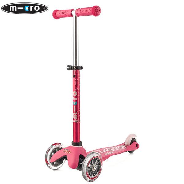 Micro - Детска тротинетка с три колела MINI MICRO DELUXE Pink MMD003