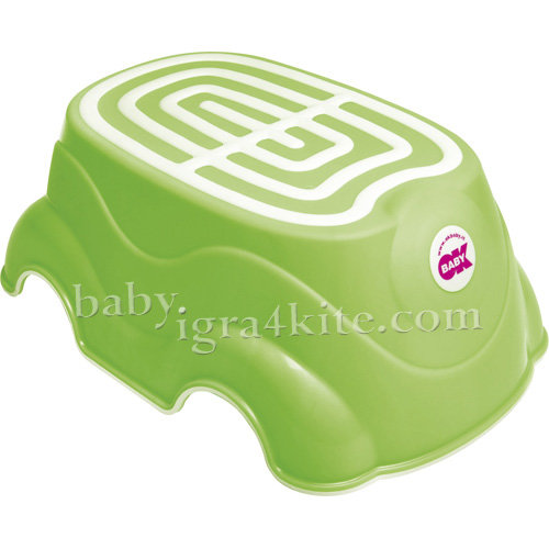 Ok Baby Стъпало за баня HERBIE 820-44 зелено