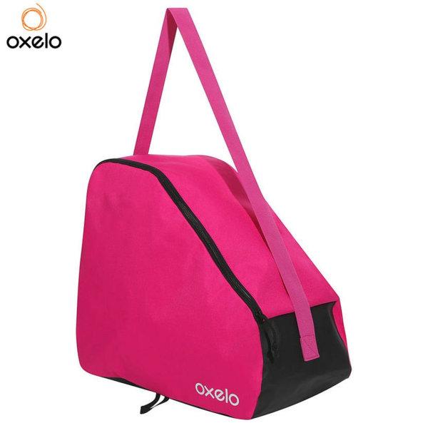 Oxelo - Чанта за ролери и кънки розова 192957