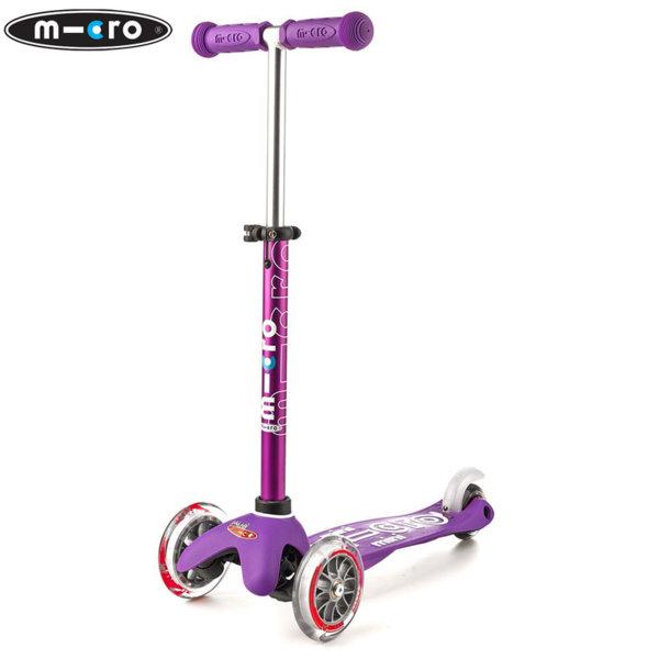 Micro - Детска тротинетка с три колела MINI MICRO DELUXE Purple MMD004