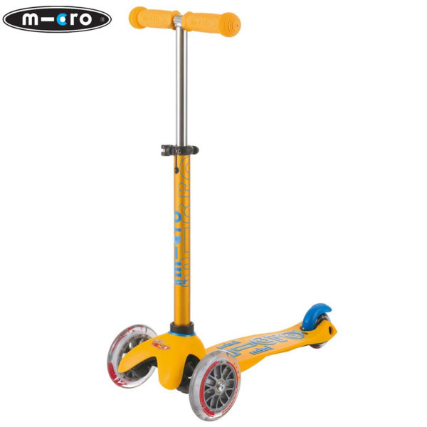 Micro - Детска тротинетка с три колела MINI MICRO DELUXE Apricot MMD038