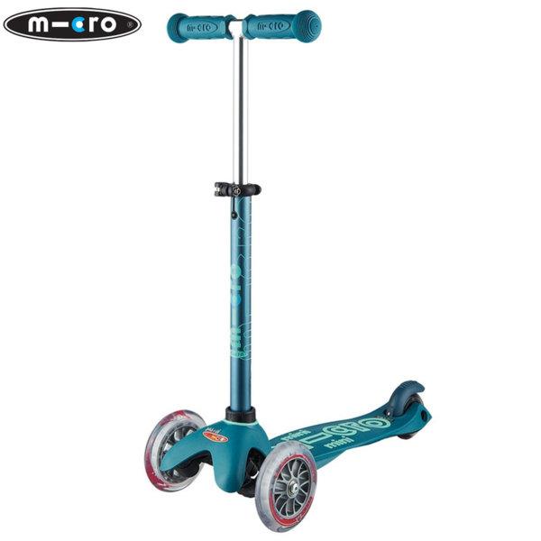 Micro - Детска тротинетка с три колела MINI MICRO DELUXE Ice Blue MMD055