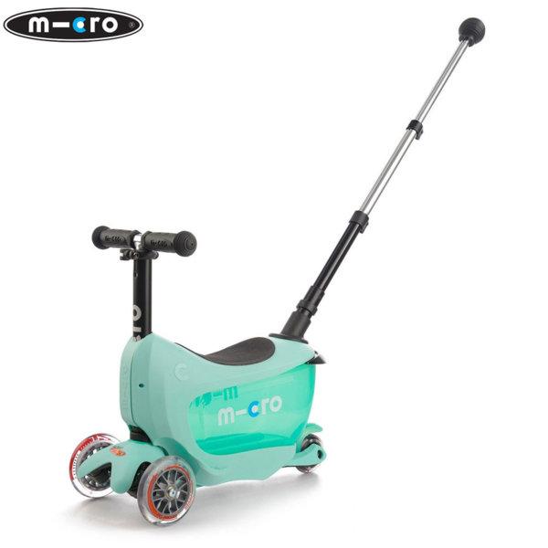 Micro - Детска тротинетка Micro Mini2go Deluxe Plus Mint MMD031