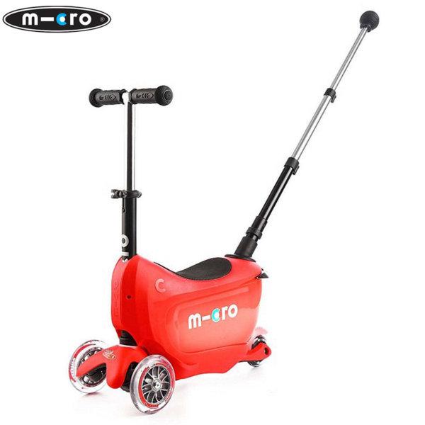 Micro - Детска тротинетка Micro Mini2go Deluxe Plus Red MMD032