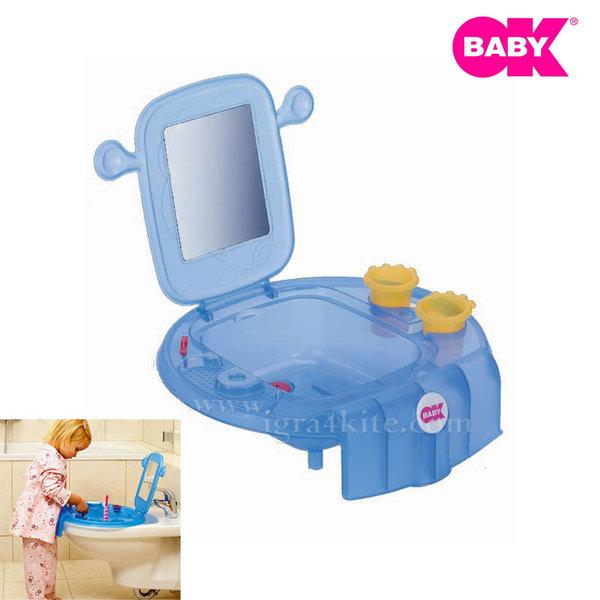 Ok Baby Детска мивка SPACE 819-84 синя
