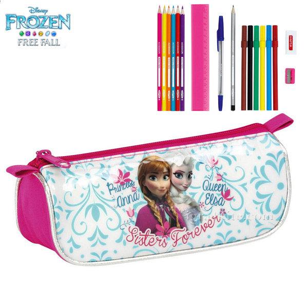 Disney Frozen - Ученически несесер зареден 17части Фроузен