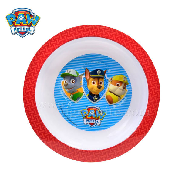 Paw Patrol - Детска чиния Пес Патрул
